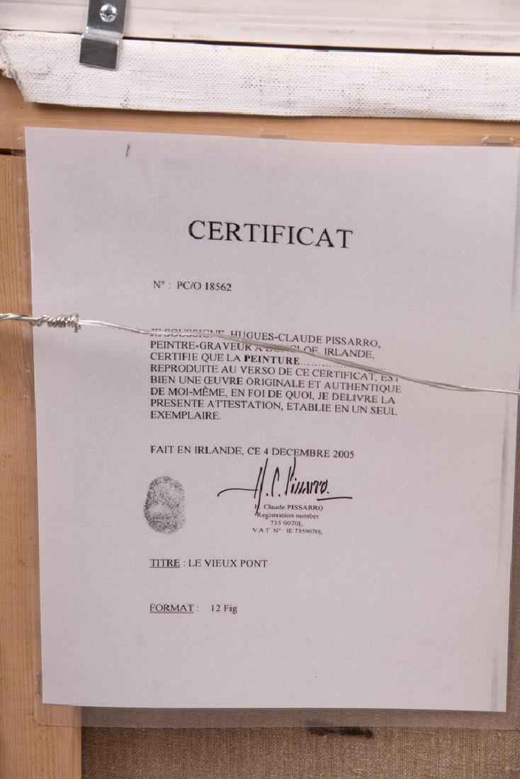 """CLAUDE PISSARRO: """"LE VIEUX PONT"""" - 5"""