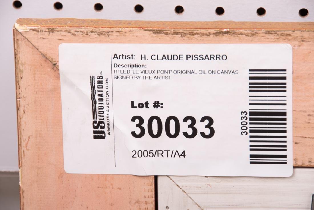"""CLAUDE PISSARRO: """"LE VIEUX PONT"""" - 6"""
