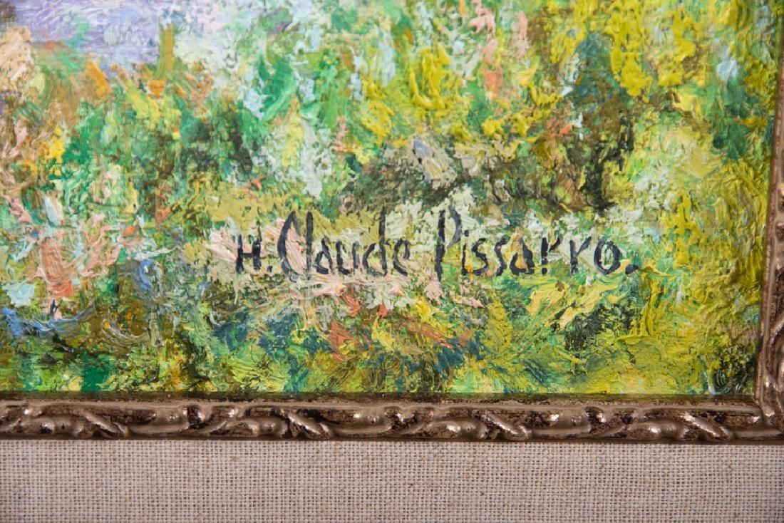 """CLAUDE PISSARRO: """"LE VIEUX PONT"""" - 8"""