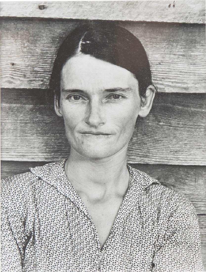 "WALKER EVANS: ""ALABAMA TENANT FARMER WIFE"""