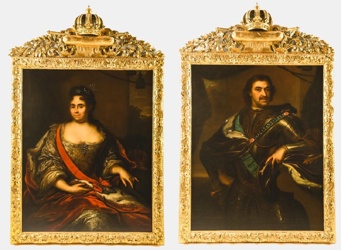 """ARNOLD BOONEN: """"PETER THE GREAT"""" & """"CATHERINE I"""""""