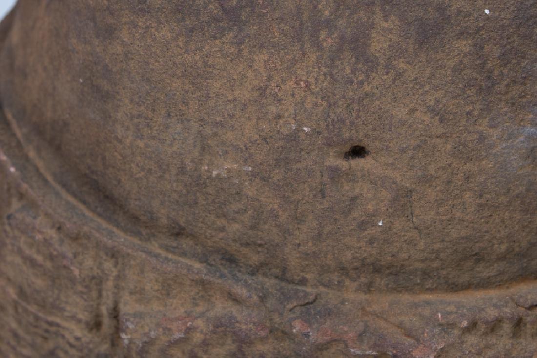 KHMER CARVED TORSO - 3