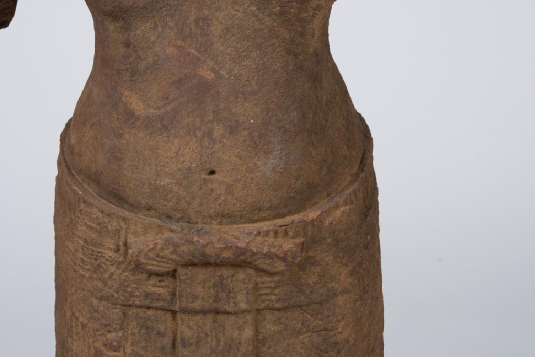 KHMER CARVED TORSO - 7