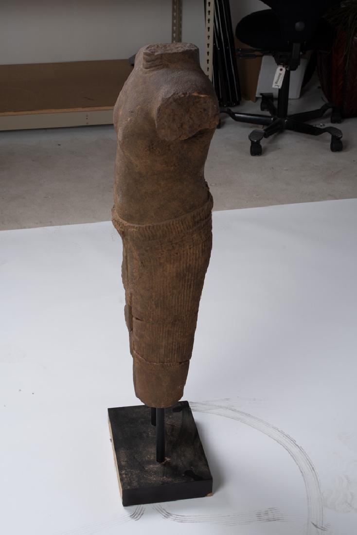 KHMER CARVED TORSO - 9