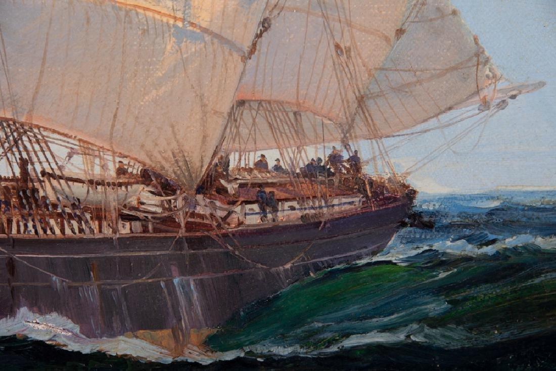"MONTAGUE DAWSON: ""CLIPPER SHIP 'CUTTY SARK' ON SUMMIT - 8"