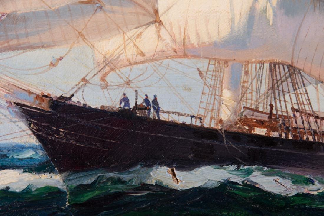 "MONTAGUE DAWSON: ""CLIPPER SHIP 'CUTTY SARK' ON SUMMIT - 9"