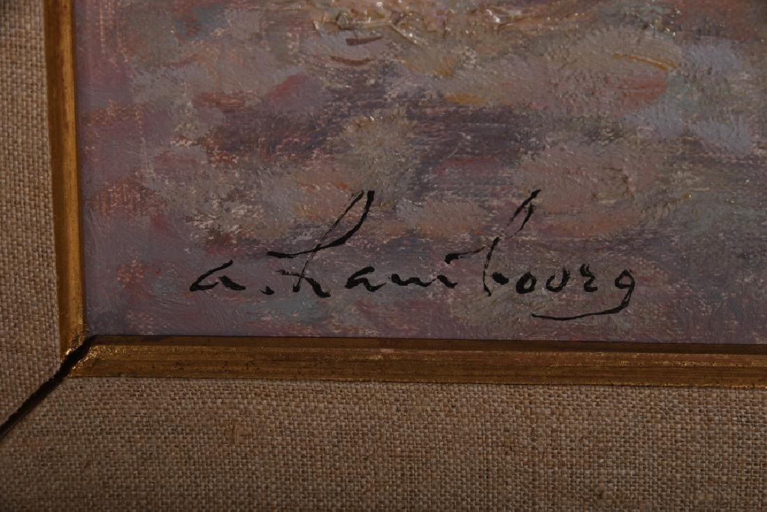 "ANDRE HAMBOURG: ""SAILBOAT SCENE"" - 4"