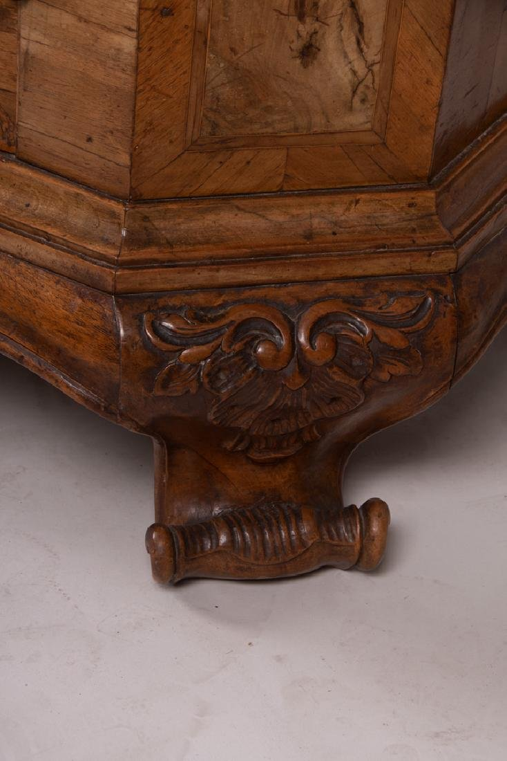 GERMAN INLAID CHEST OF DRAWERS - 4
