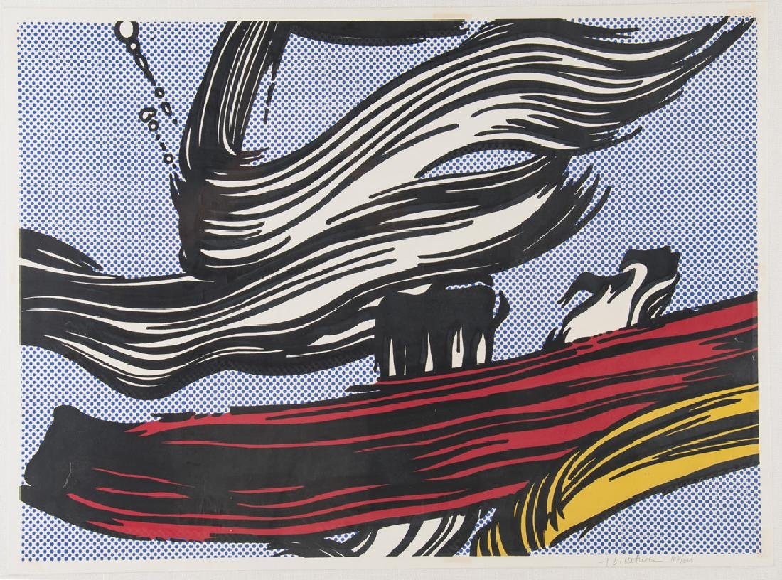"ROY LICHTENSTEIN: ""BRUSHSTROKES"""