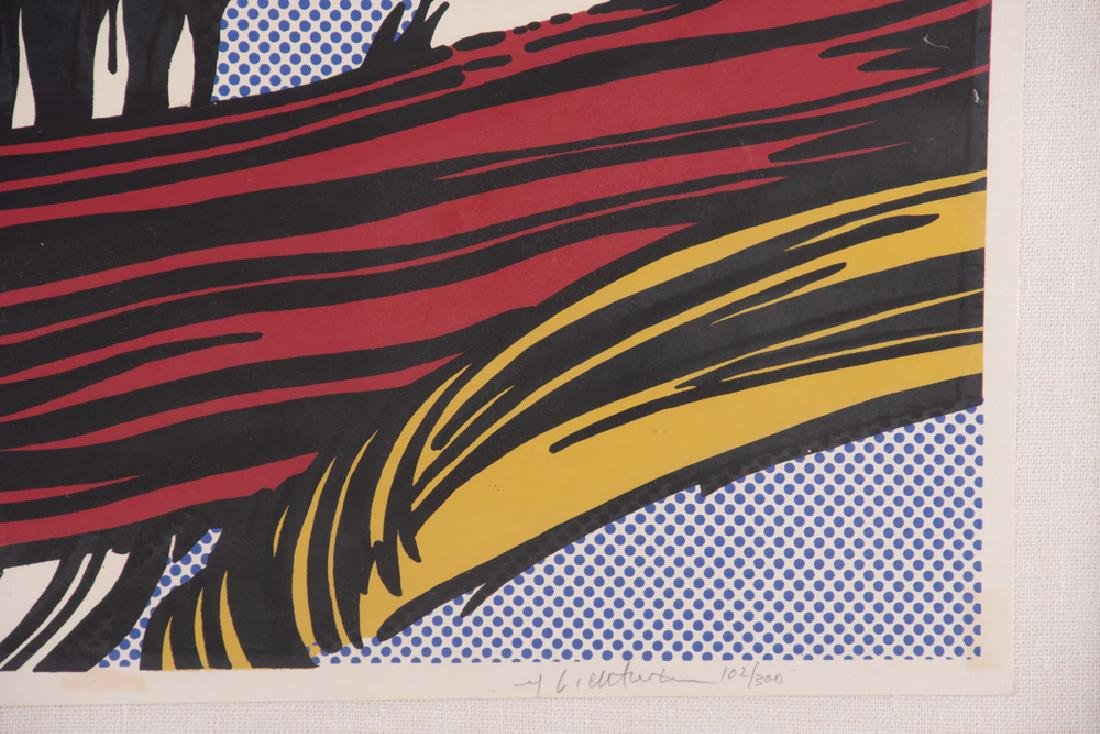 "ROY LICHTENSTEIN: ""BRUSHSTROKES"" - 5"