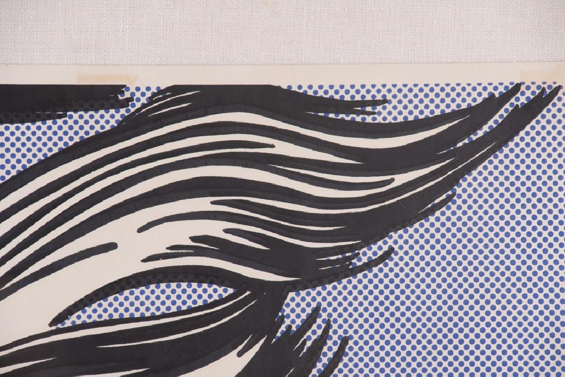 "ROY LICHTENSTEIN: ""BRUSHSTROKES"" - 8"