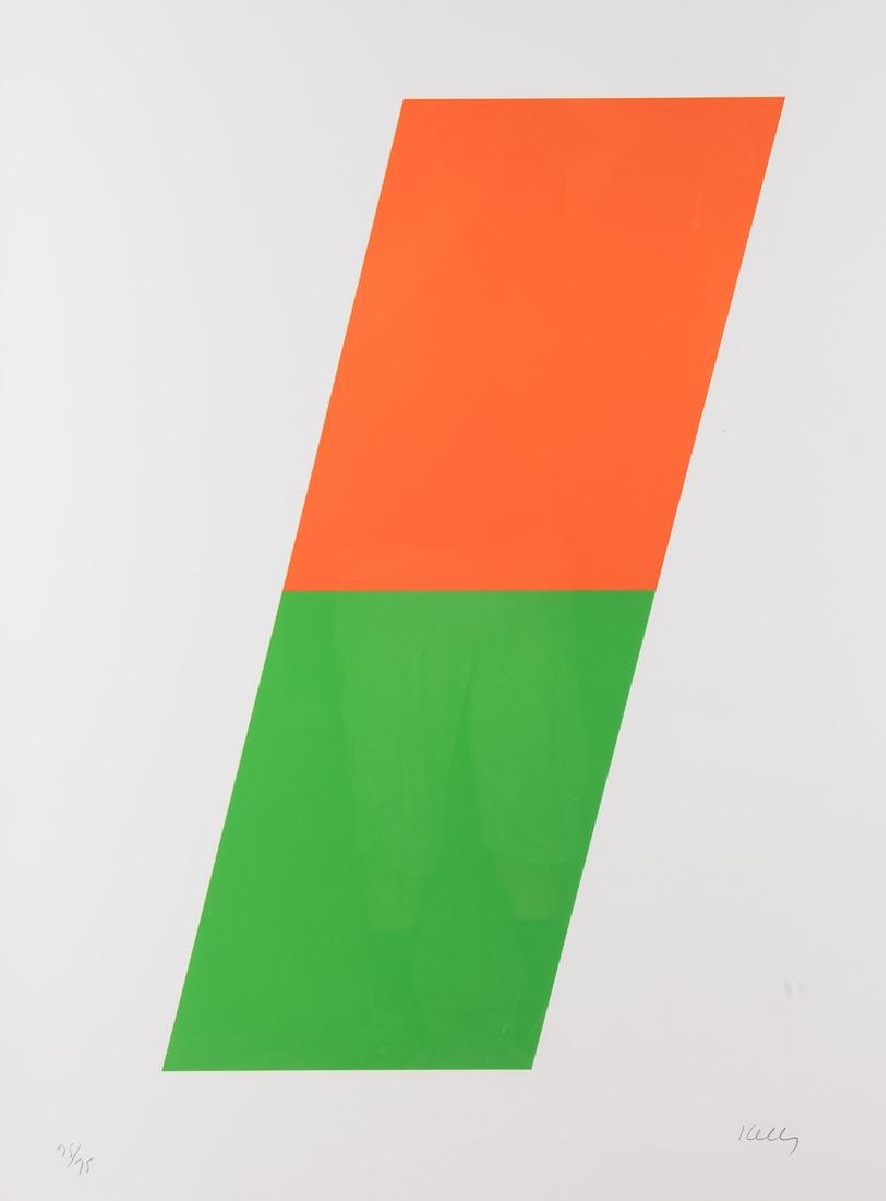 "ELLSWORTH KELLY: ""ORANGE/GREEN"""