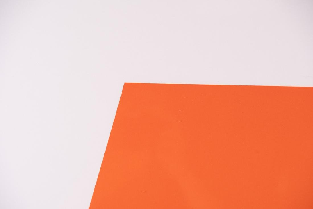"ELLSWORTH KELLY: ""ORANGE/GREEN"" - 2"