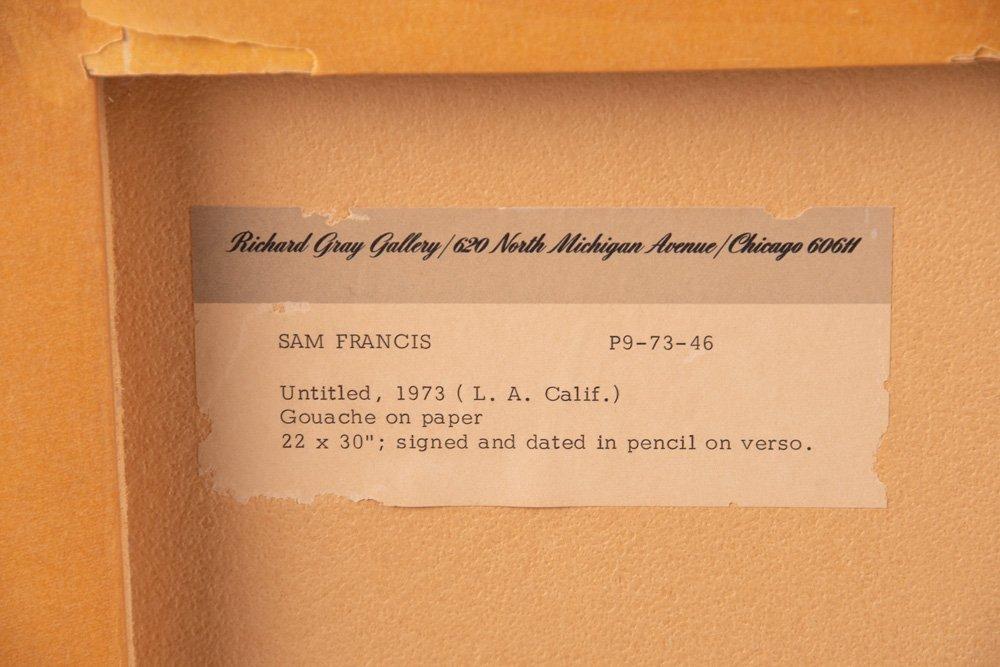 "SAM FRANCIS: ""UNTITLED"" - 6"