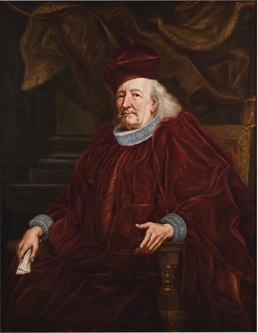 "AFTER ANTHONY VAN DYKE: ""PORTRAIT OF A NOBLEMAN"""