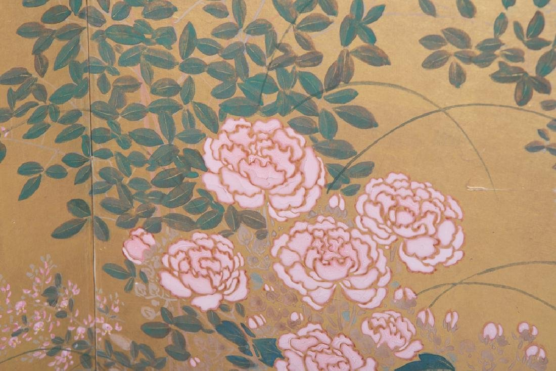 JAPANESE SIX-PANEL SCREEN - 6
