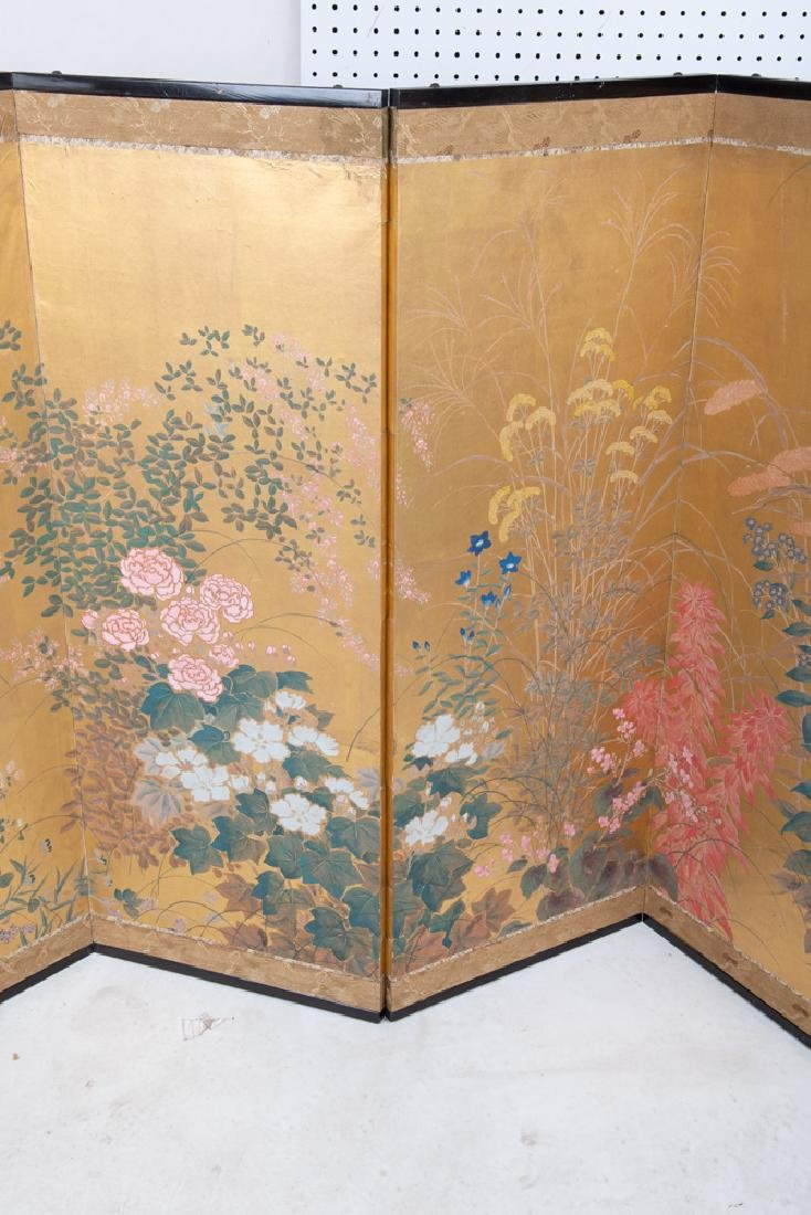 JAPANESE SIX-PANEL SCREEN - 7