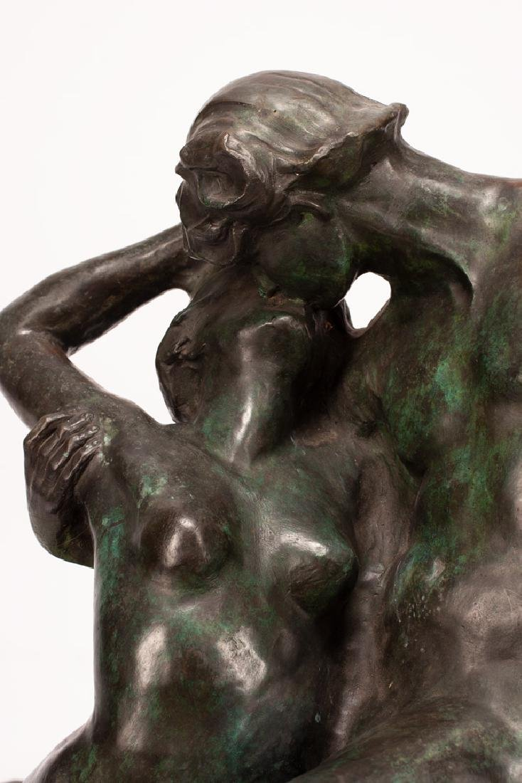 """AFTER AUGUSTE RODIN: """"THE KISS"""" - 4"""