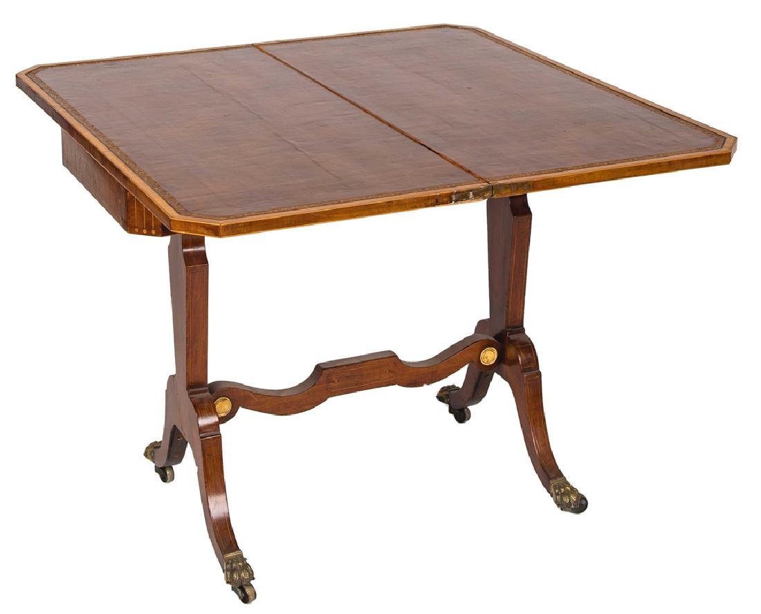 EDWARDIAN GAMES TABLE