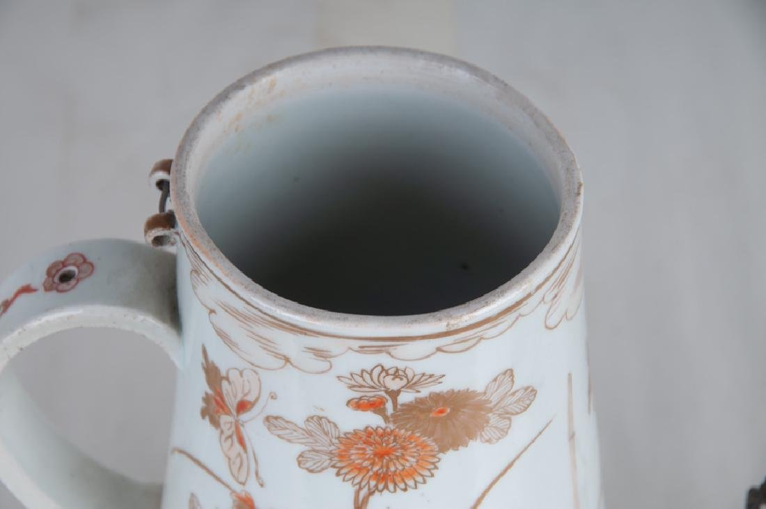 CHINESE EXPORT PORCELAIN TEAPOT - 4