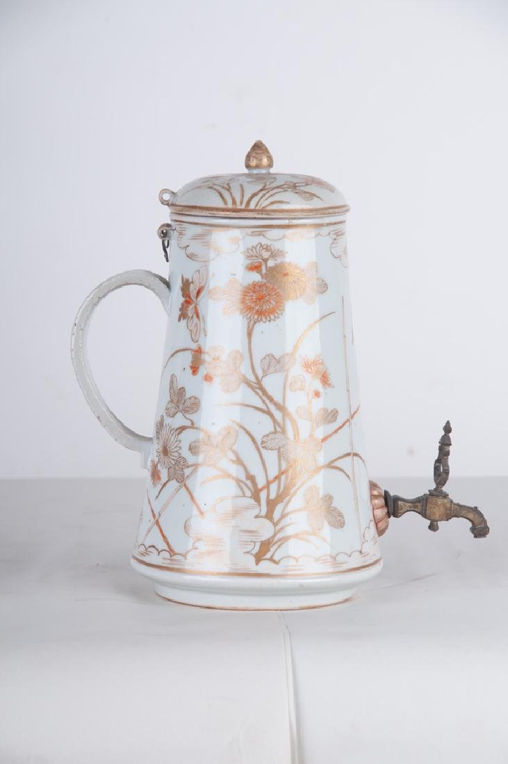 CHINESE EXPORT PORCELAIN TEAPOT - 6