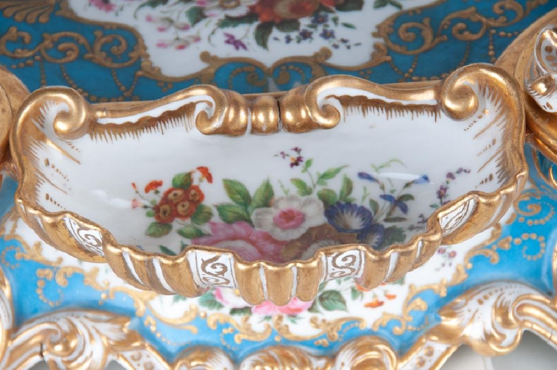 FRENCH PORCELAIN INKWELL - 7