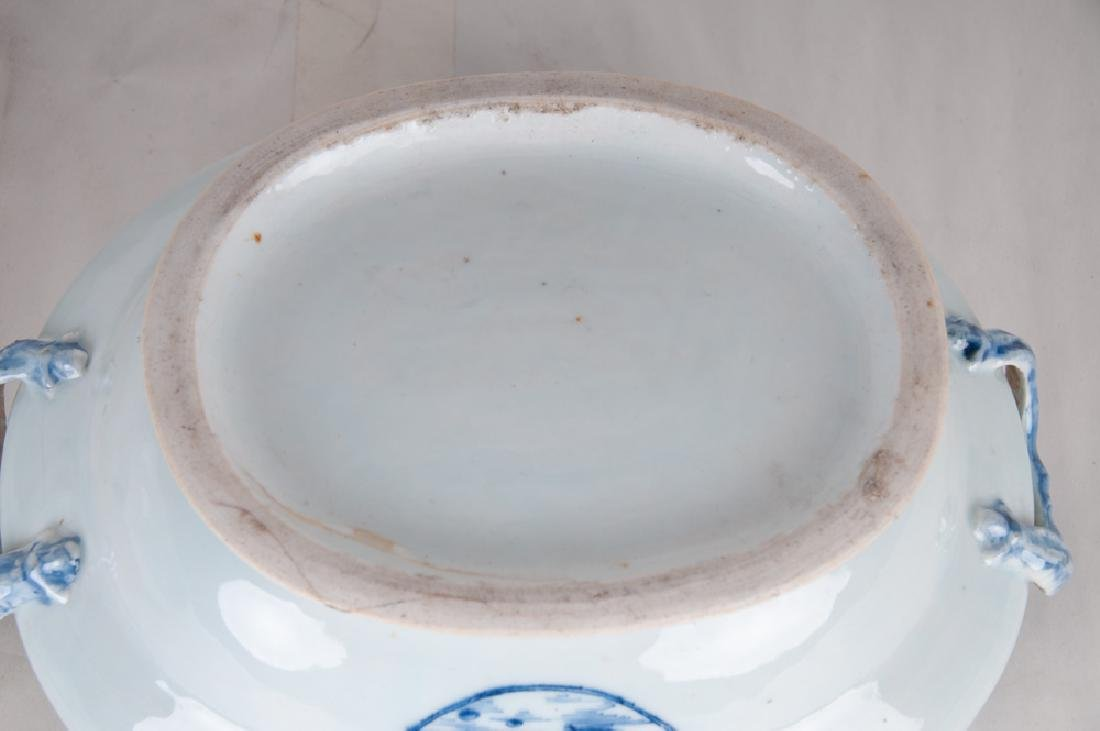 CHINESE EXPORT PORCELAIN TUREEN - 2