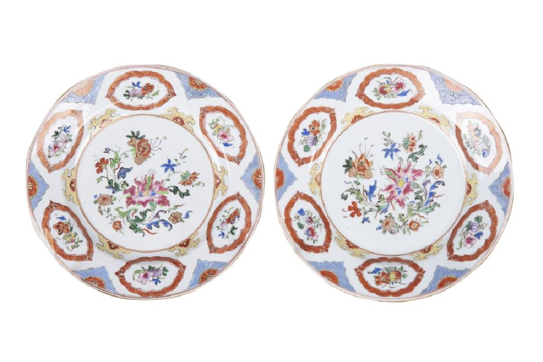 PAIR OF CHINESE EXPORT PORCELAIN BOWLS