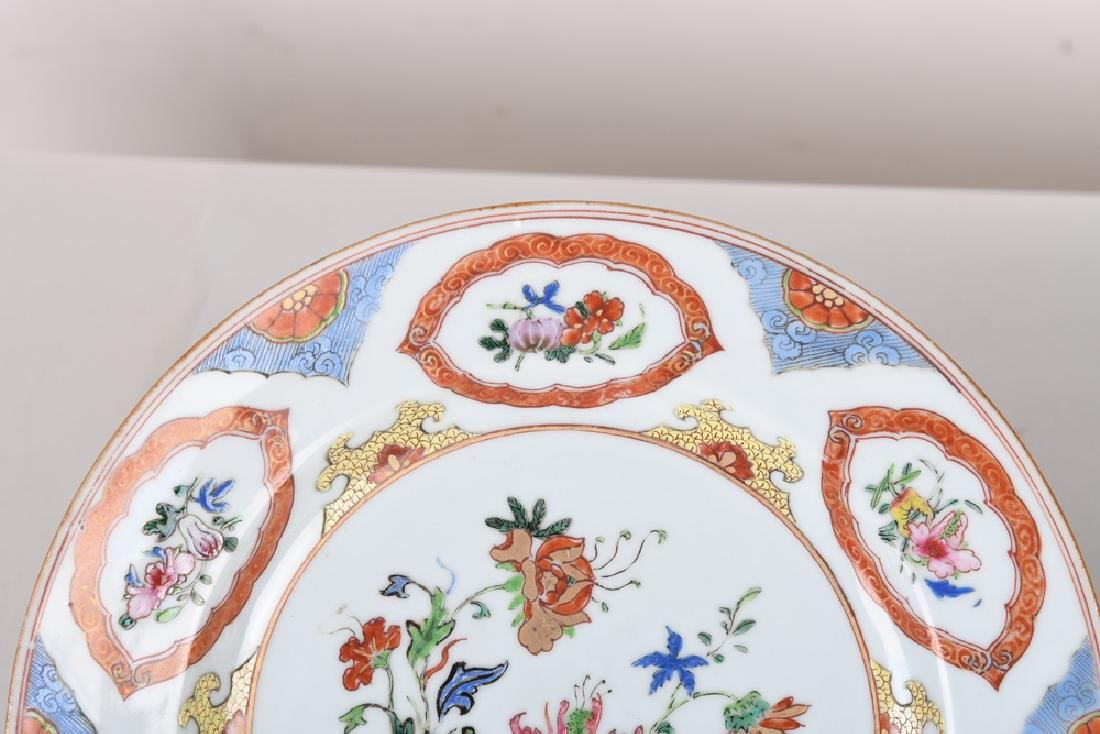 PAIR OF CHINESE EXPORT PORCELAIN BOWLS - 3