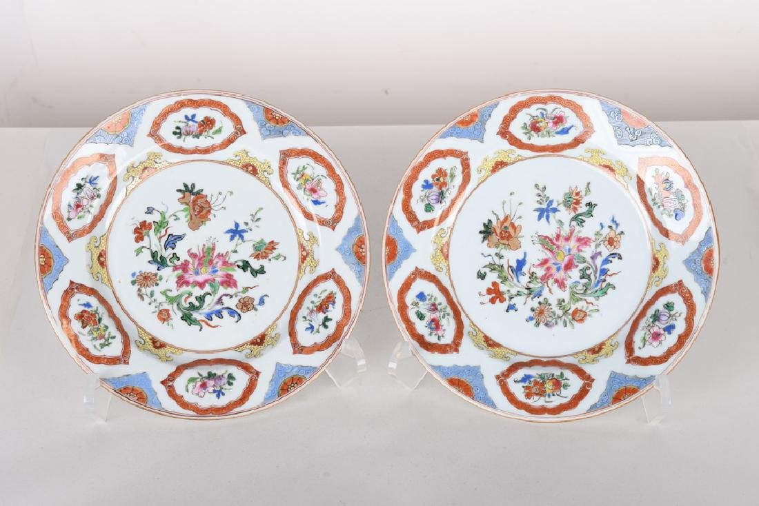 PAIR OF CHINESE EXPORT PORCELAIN BOWLS - 5