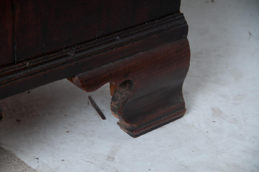 GEORGE III MAHOGANY CHEST ON CHEST - 7