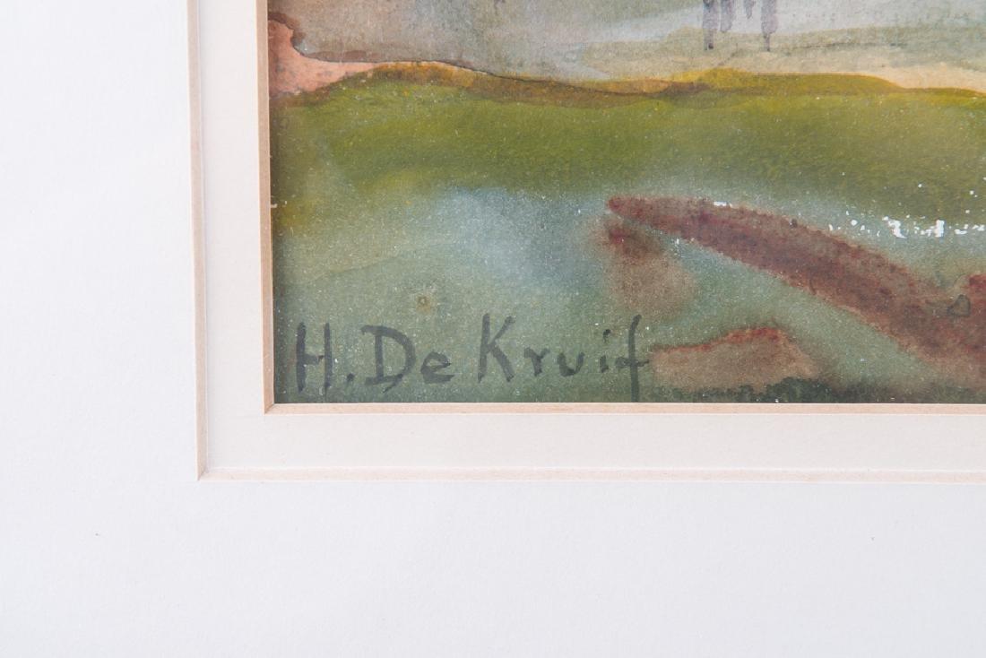 """HENRI DE KRUIF: """"CALIFORNIA VALLEY"""" - 4"""