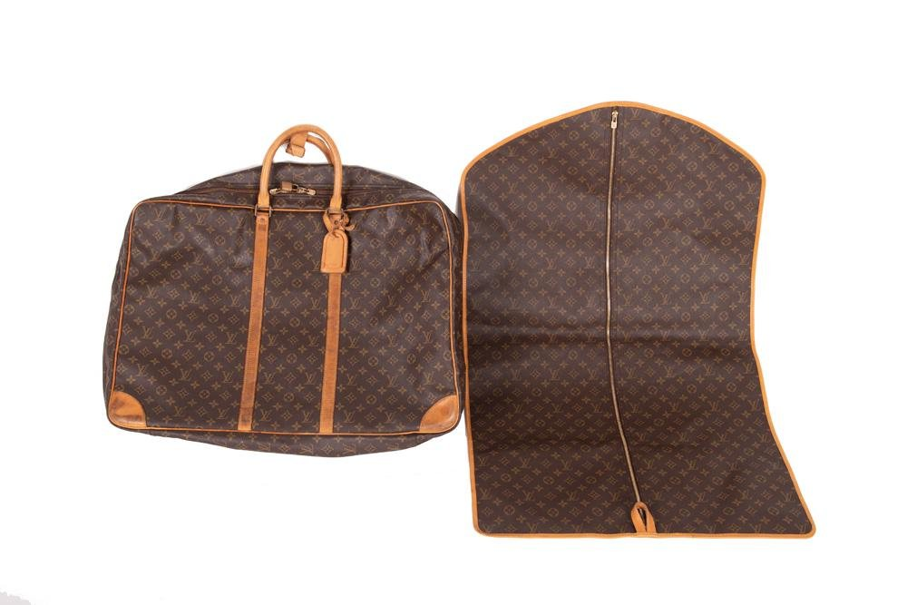LOUIS VUITTON SOFT LUGGAGE CASE & GARMENT BAG