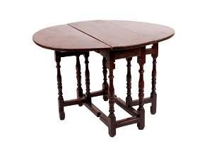 AMERICAN DROP LEAF TABLE
