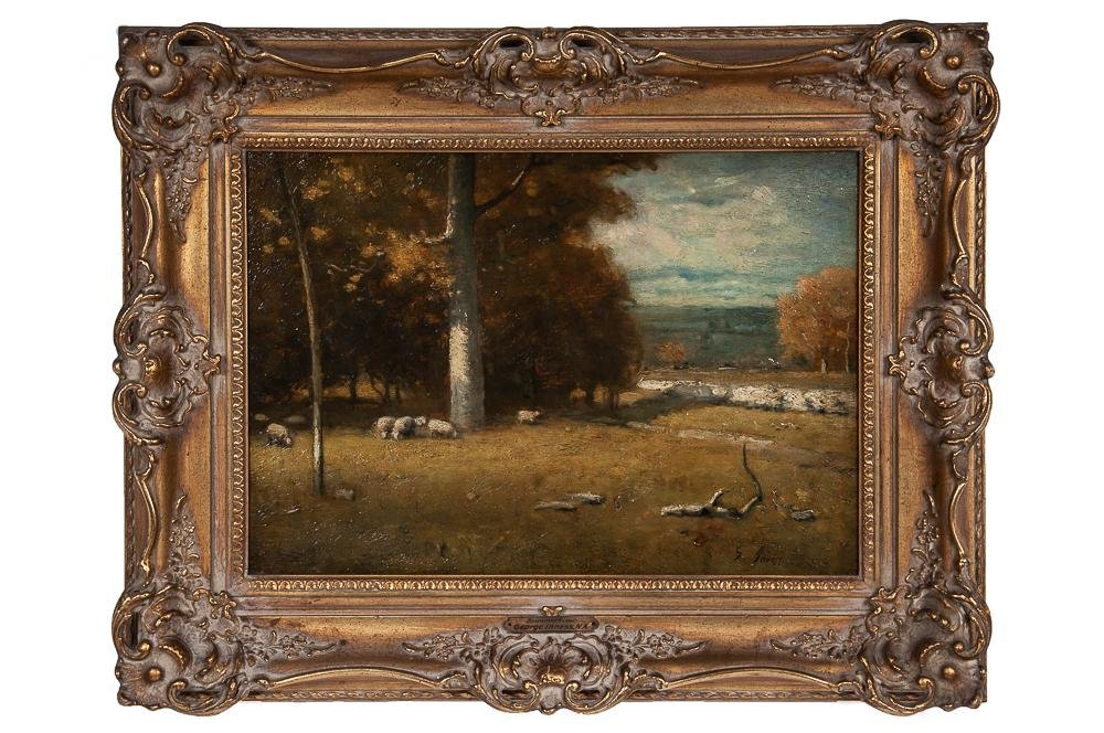 """IN THE MANNER OF GEORGE INNESS: """"SUMMERTIME"""""""