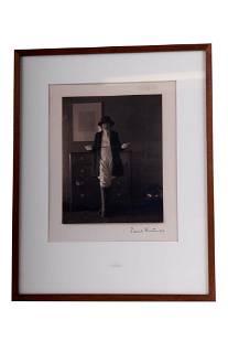 "EDWARD WESTON: ""PORTRAIT OF GIRL WITH RIDING CROP"""