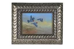 "GAMINI RATNAVIRA: ""BIRDS IN FLIGHT"""