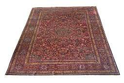RED FIELD PERSIAN CARPET