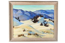RUTH YOUNGLOVE MOUNTAIN LANDSCAPE PAINTING DEATH