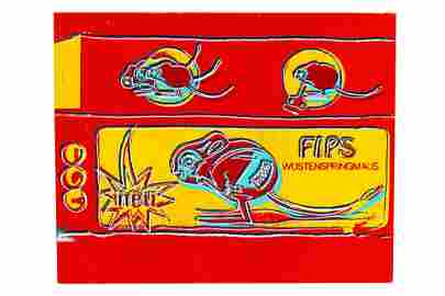 "ANDY WARHOL (1928 - 1987): ""FIPS, MOUSE"" (FROM THE TOY"