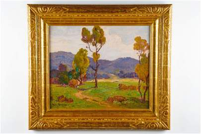 "DANA BARTLETT (1882 - 1957): ""AUTUMN, REDLANDS"""