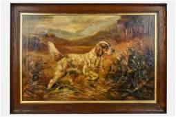 """P. BEAUMONT: """"PORTRAIT OF A DOG"""""""