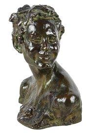"""ALFREDO PINA (1883 - 1966): """"HEAD OF BACCHUS"""""""
