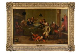 "AFTER WILLIAM HOGARTH (1697 - 1764): ""THE MIDNIGHT"