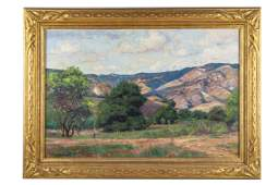 WILLIAM WENDT (1865 - 1946): CALIFORNIA LANDSCAPE