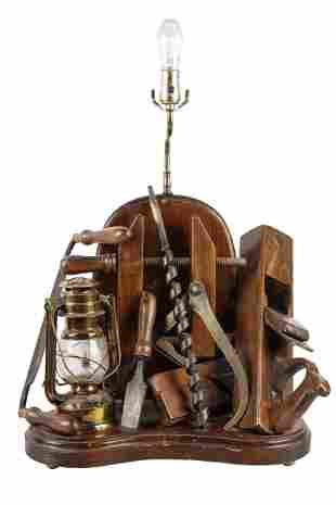CARPENTER'S TABLE LAMP