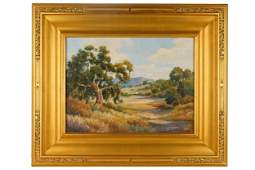 "DAVID CHAPPLE (B. 1947): ""CALIFORNIA OAKS"""