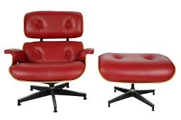 CHARLES & RAY EAMES: LOUNGE CHAIR & OTTOMAN