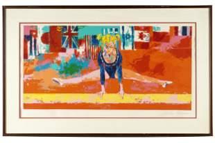 "LEROY NEIMAN (1921-2012): ""OLYMPIC GYMNAST"""