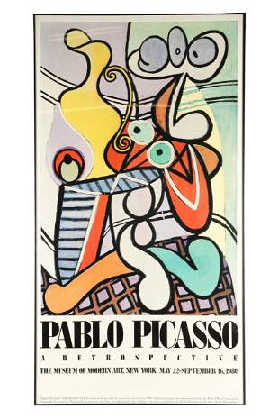 AFTER PABLO PICASSO: THE MUSEUM OF MODERN ART, NEW YORK